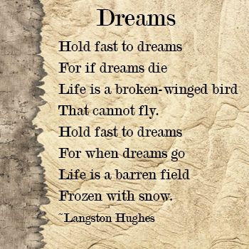 the life of langston hughes the dreamer 8 quotes to celebrate langston hughes on his 113th birthday dreamer, and sage happy birthday, langston hughes https: essays, children's books and political writings that spotlighted black life and culture, here are 8 quotes from life of langston hughes 1.