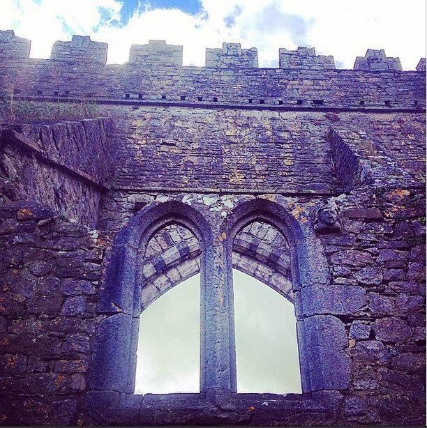 Medieval window, Gowran, Kilkenny
