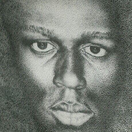 #portrait#pointalism#pen drawing#Usain Bolt#