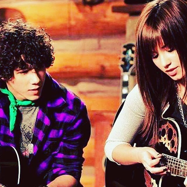 It's been almost a decade since Demi Lovato and Nick Jonas bonded on the set of Camp Rock, but through it all the pair have only become closer, calling each other best friends and becoming business partners in a record label.