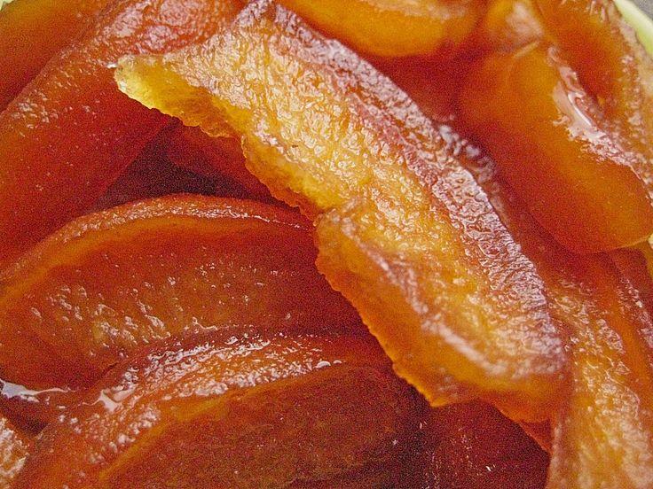 Kandierte Quitten oder andere kandierte Früchte