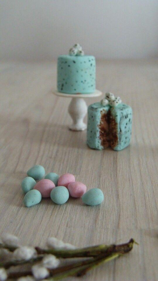 Miniature Easter in 1:12 scale Mi studio of miniatures