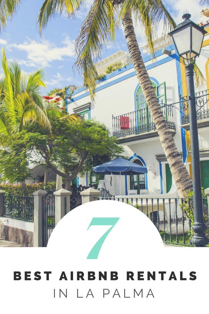 Airbnb Rentals in La Palma Canary Islands