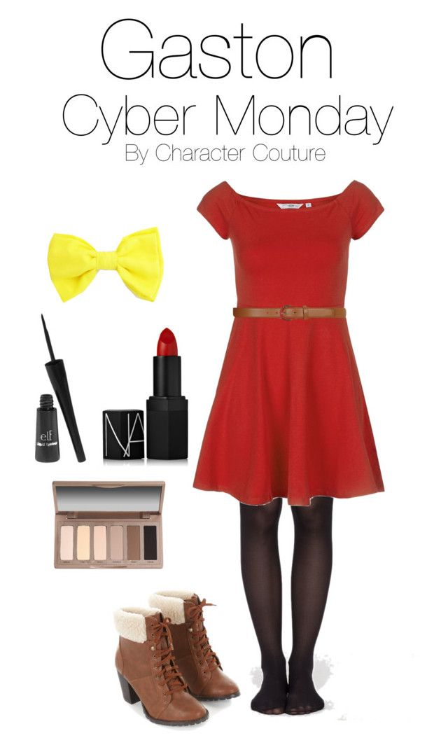 """""""Gaston from Beauty and the Beast Under 50 Cyber Monday Outfit"""" by character-couture ❤ liked on Polyvore featuring Dorothy Perkins, NARS Cosmetics, e.l.f. and Urban Decay"""
