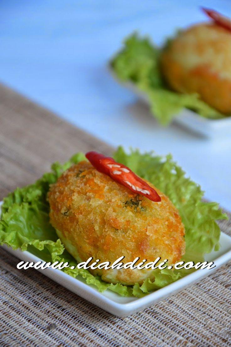 Diah Didi's Kitchen: Kroket Telur...Yummy..^_^