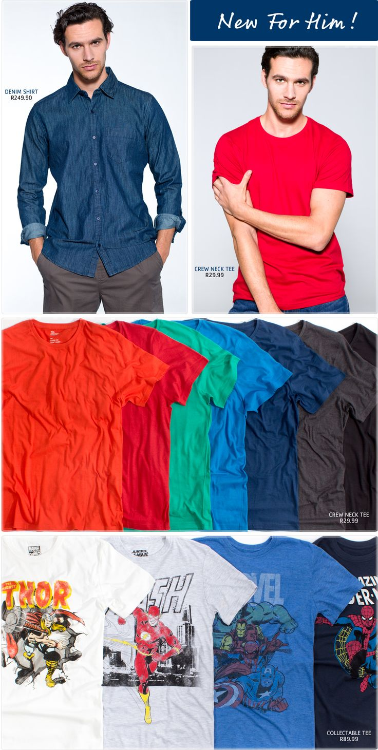 Pick n Pay Clothing | New For Him - Pick n Pay