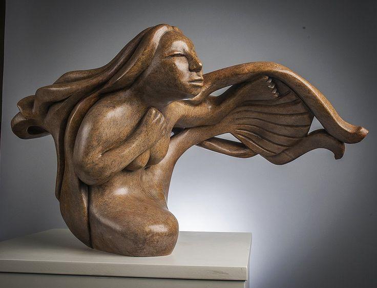 Nuliajuk sedna inuit art sculpture for sale