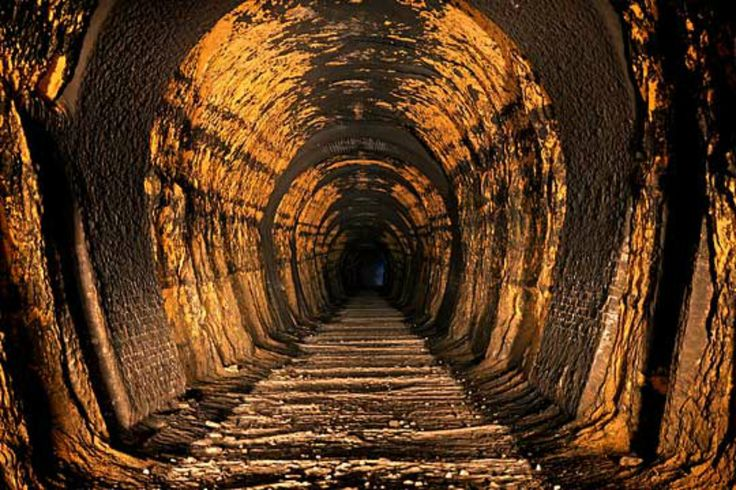 Stop looking down the tunnel at an unknown future. Live in today.