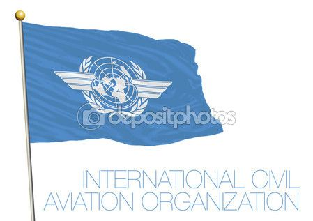 Nazioni Unite, International Civil Aviation Organization, bandiera di Icao —…