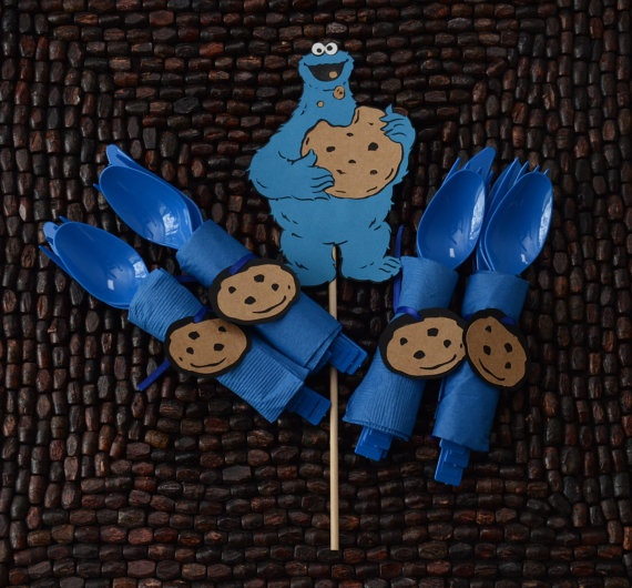 about it 39 s a boy cookie monster baby shower on pinterest cookie
