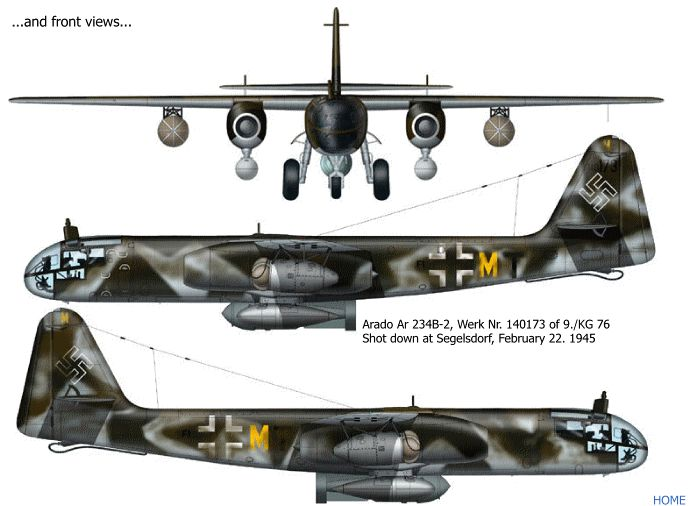 Arado 240.