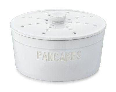 Ceramic Pancake Warmer