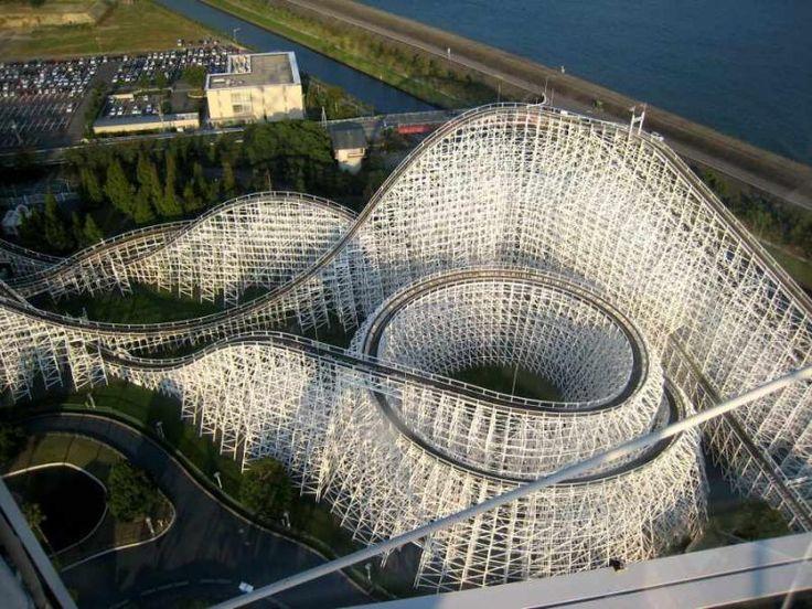 Nagashima Spa Land È un importante parco di divertimenti in Kuwana , in