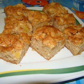 Bögrés almás süti recept