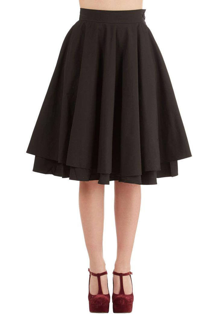 Best 20  Black circle skirts ideas on Pinterest | Skater skirts ...
