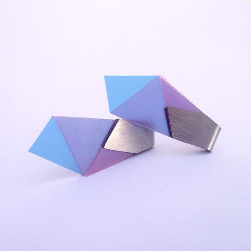 Origami Earrings by Yo Soy.