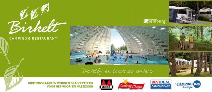 Camping Birkelt Luxemburg met zwembad kindvriendelijk