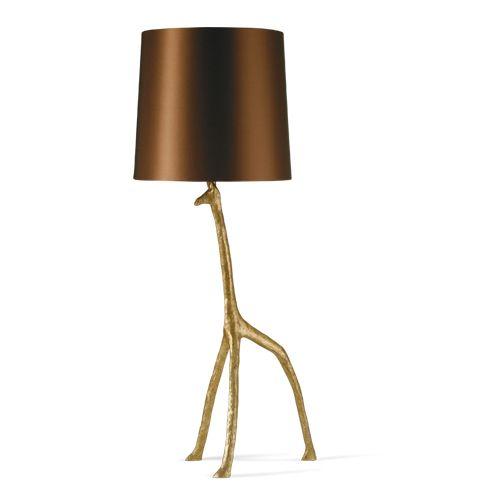 Porta romana slb54 giraffe lamp decayed gold lamp for Tondelli arredamenti