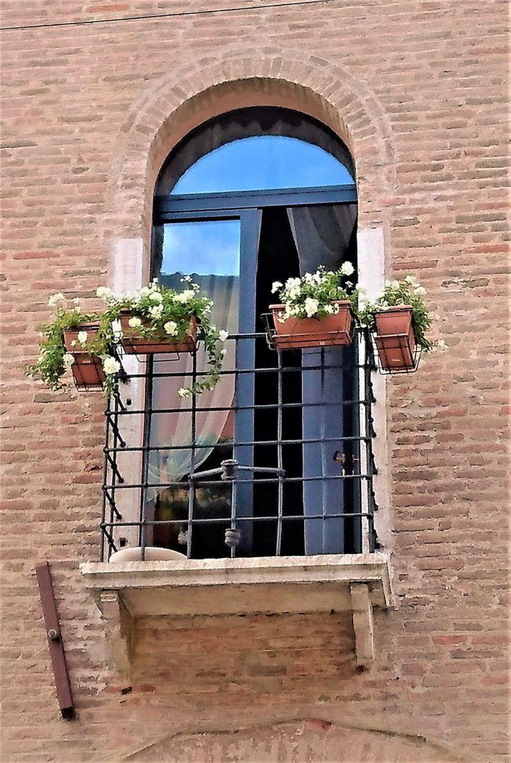 Treviso window trimmings, Italy