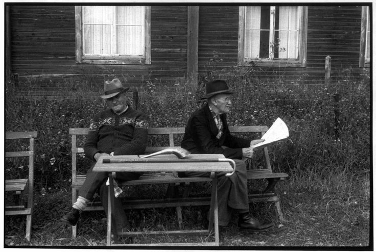 Henri Cartier-Bresson. Old people's home. 1956.