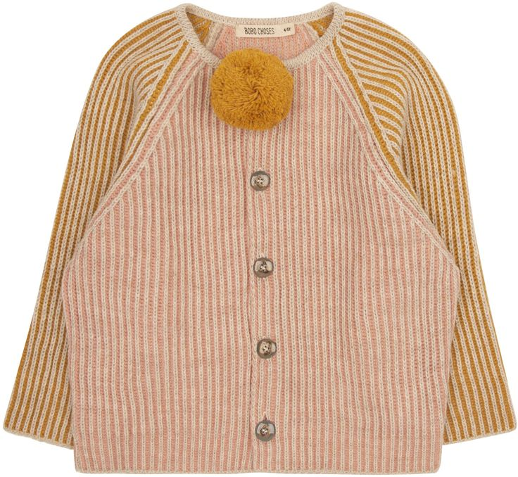 Shop The Bobo Choses Girls Bi Colour Cardi In Pink. Browse The Cutest Designer Girls Clothes, Handpicked By Elias & Grace. Fashion Clothing For Kids 0-14Y.