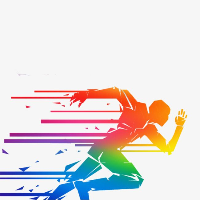 Running Man Man Colored People Run Png Transparent Clipart Image And Psd File For Free Download Running Man Clip Art Poster Background Design