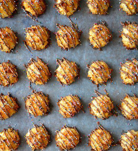 Kokosové marokánky s čokoládou