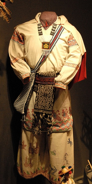 Huichol Man's Clothing Mexico by Teyacapan