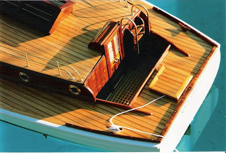 Aft deck of the 'Mary Graham'