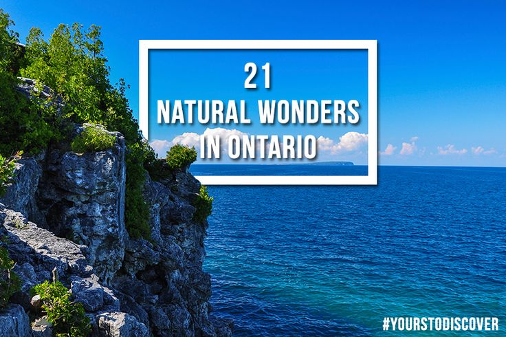 21 Natural Wonders in Ontario That You Need to See