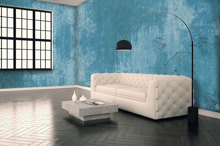 """Collezione """"Industriel"""" azul"""