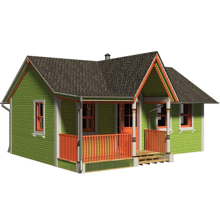 465 best cottages images on pinterest little house plans for Cottage construction costs