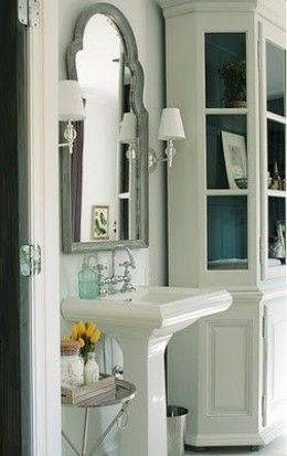 Adding Character to a Cookie Cutter Home Saw mirror like