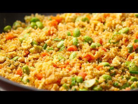 Leftover Quinoa Fried Rice - YouTube