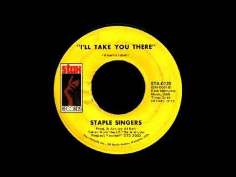 The Staple Singers - I'll Take You There [Full Length Version]  I'll be damn if this song does not take some dolls back to dem days,,,,,awwww. I know a place in dis 21s century some doll ass out n on some asinine ish...I will take you there. HA! Nope not calling daddy cause poppy is gone....what is dis place you take me there...MERCY is what some of dem n foks will spew...no smiling faces. NOPE!