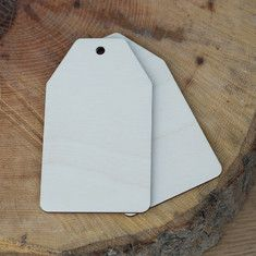 Giant Wooden Gift Tags