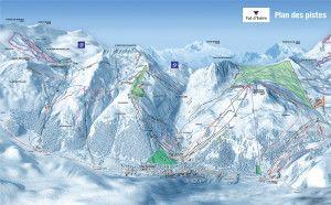 ValdIsere-Piste-Map