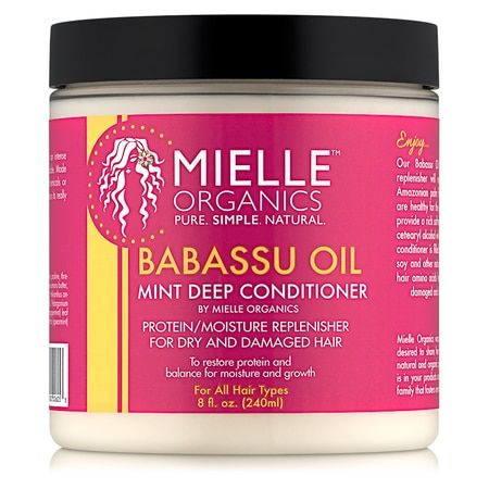 Shop the best hair care products, including Mielle Organics Babassu Oil & Mint Deep Conditioner (8 oz.) and others at Shop.NaturallyCurly.com.