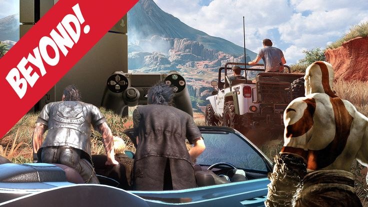Podcast Beyond Episode 438: Uncharted 4 Final Fantasy XV and God of War Hype This week we geek out on Uncharted 4 FFXV's release date and the idea of a Norse God of War. April 06 2016 at 08:55PM  https://www.youtube.com/user/ScottDogGaming