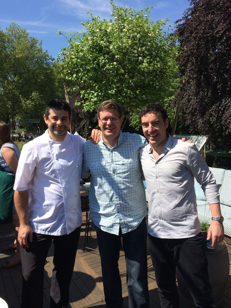 Chefs Daniel Clifford, Tim Allen & Colin McSherry
