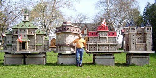 Large Handmade Decorative Birdhouses4 - For the Birds!