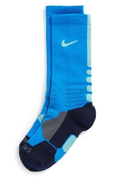 Nike 'Hyper Elite' Dri-FIT Basketball Socks (Big Kid) available at #Nordstrom