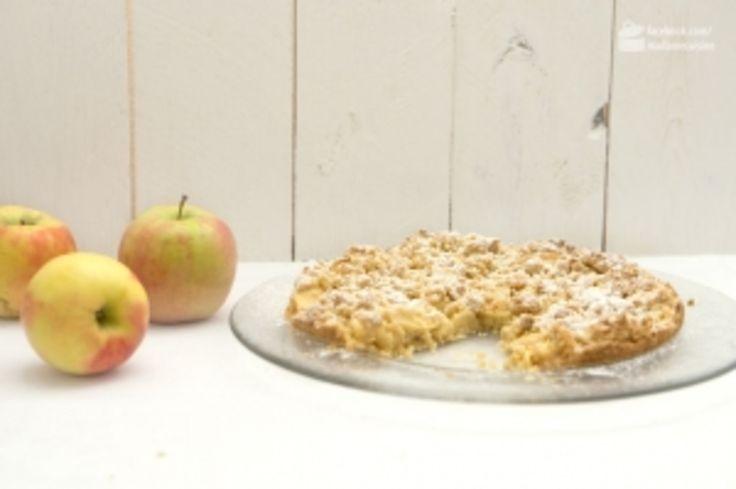Apfel-Tarte mit Streuseln