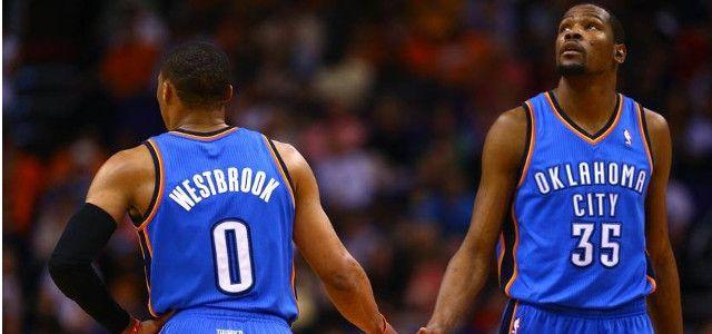 Kevin Durant - Russell Westbrook - Oklahoma City Thunder - Kobe Bryan - Los Angeles Lakers - Isaiah Thomas - Boston Celtics