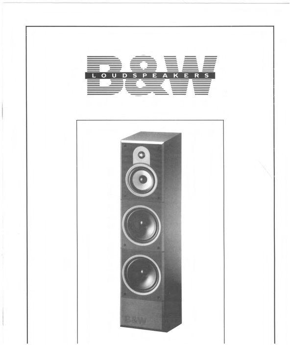 Bowers  U0026 Wilkins B U0026w Dm