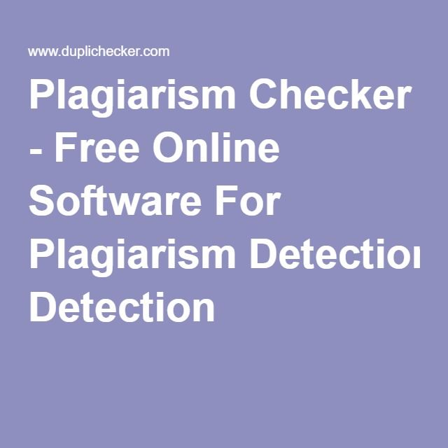 Online plagiarism checker for research papers