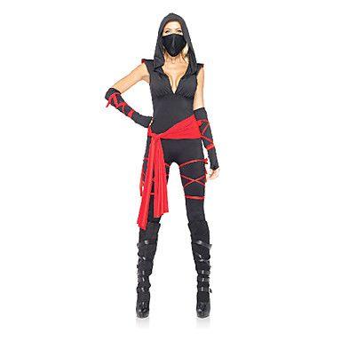 Sexy V-hals Ninja Women's Halloween kostuums – EUR € 57.74