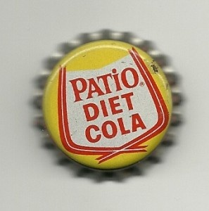 Diet Pepsi, because that's what Patio Cola is, but it eventually changed its name to Diet Pepsi.