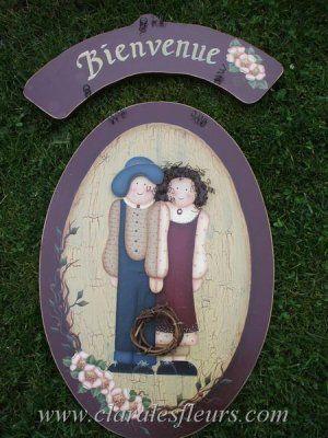 1000 id es propos de peinture sur bois d corative sur - Peinture decorative sur bois et metal ...