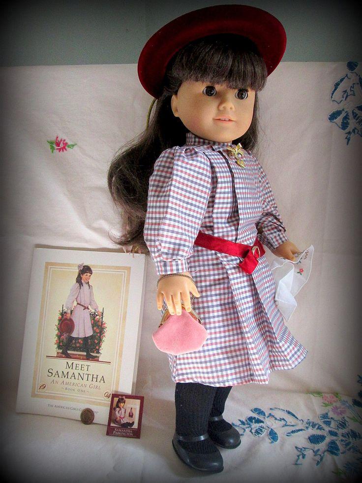 American Girl Samantha Doll Pleasant Company Vintage 1986